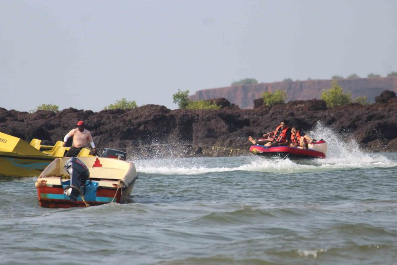 Bumper Ride Chivla Beach Malvan Pace Tour Packages