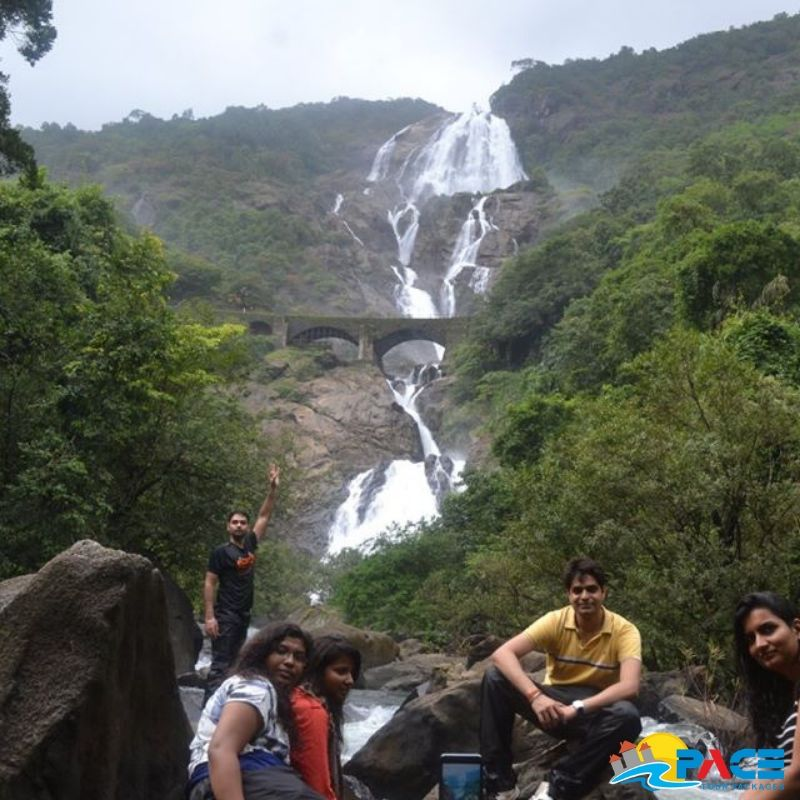 Dudhsagar waterfall, Goa