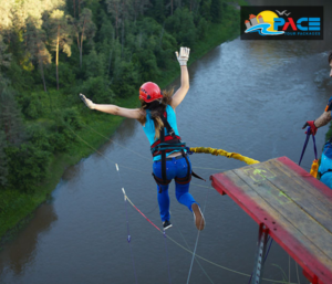 Bungee jumping sports